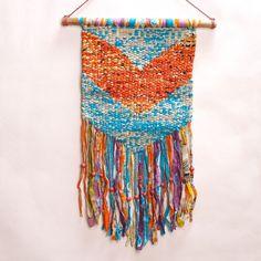 Fair Trade Macrame Wall Hanging // Handmade with Repurposed Sari // Ethical Home Decor // Slow Design // Baby Room + Nursery Ideas // Kids Room // Office