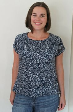 Japanese Lawn Bess Top : pattern by imagine gnats