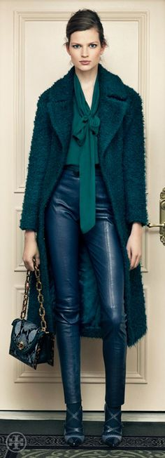 Look total de Tory Burch - TRENDY COLOR: FOREST GREEN 2012