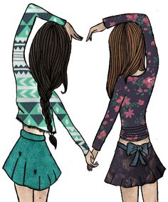 I love my bff bff drawings, best friends forever, cute wallpapers, bffs, Best Friend Drawings, Bff Drawings, Best Friends Forever, My Best Friend, Girls Heart, Best Frends, Girly M, Friends Wallpaper, Friend Pictures