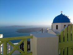 Imerovigli, Thira, Greece.