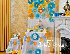 оформление детского дня рождения кэнди-бар 1 год, candy bar
