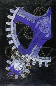 Francis Picabia, Machine Turn Quickly, 1916-18