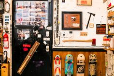 Creative Spaces: Casey Neistat on Milk Royal Blue Bedrooms, Retro Dresser, Dream Studio, House Studio, Grey Countertops, Old Room, Messy Room, Color Meanings, Wooden Bathroom