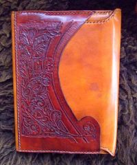 Carved Journal front closed MXS