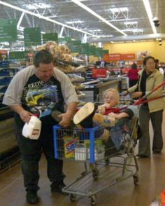 Walmart shoppers people