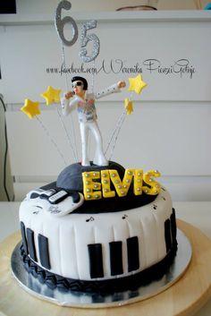 Elvis Presley cake ;)