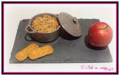 Ce que les gourmands disent (Sab en cuisine): Crumble pommes, caramel au beurre salé, spéculos