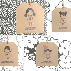 Valentine's Day Freebie: Love Gift Tags | Heartmade Blog
