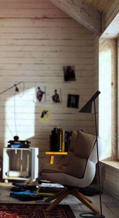 VrayWorld - Vintage loft