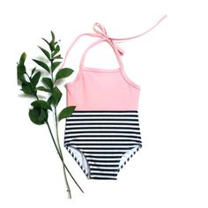 Black and Pink Infant Swimwear | Black and White Stripe Toddler Swimsuit by retrobabyswimwear on Etsy https://www.etsy.com/listing/246705076/black-and-pink-infant-swimwear-black-and