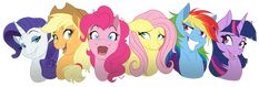 ThePonyArtCollection: Mane 6
