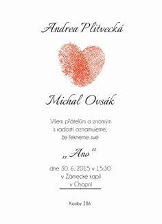 Svatební oznámení LSO6 - online svatební luxusní oznámení
