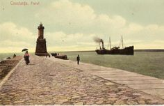 Constanta - Farul - interbelica Western Coast, Black Sea, Old City, Lighthouse, Facade, Past, Places To Go, Old Things, Culture