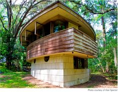 Please help The Spring House Institute preserve this Frank Lloyd Wright home. The only FLW home in Florida. They are looking for funding via #indiegogo. Just $20 will help them preserve this architectural gem.