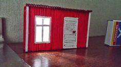 Tändstickshus av Livserfarenhet Curtains, Inspiration, Home Decor, Biblical Inspiration, Blinds, Decoration Home, Room Decor, Interior Design, Draping