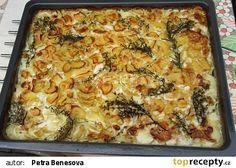 Smetanové brambory pana šéfkuchaře recept - TopRecepty.cz Chef Recipes, Gnocchi, Lasagna, Macaroni And Cheese, Potatoes, Cooking, Ethnic Recipes, Fit, Decor