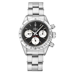 ROLEX Stainless Steel Daytona Cosmograph Chronograph Wristwatch Ref 6265