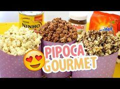 3 Receitas de pipoca doce: Nutella, Leite Ninho e Ovomaltine - Amando Cozinhar - Receitas, dicas de culinária, decoração e muito mais!