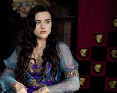 "Morgana from ""Merlin"". I love love love her clothes in this show."