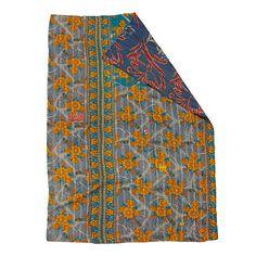 UncommonGoods: kantha blanket... for $100 #uncommongoods