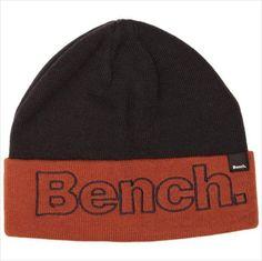 Bench Mens Hector Beanie Hat Dark Navy Blue One Size