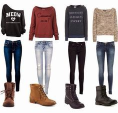 casual outfit ideas for teenage girls - Google Search
