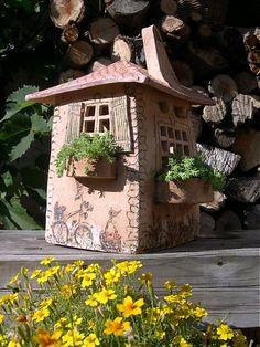 Dekorácie - Domček ...  na objednávku - 817580