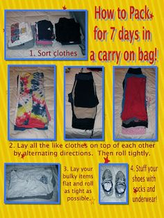 A Disney Mom's Thoughts: How to Pack 7 Days Worth in an American Tourister Carry-On Bag!