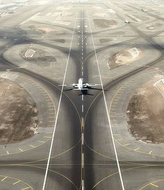 """""""A mile of highway will take you just one mile, but a mile of runway will take you anywhere!"""""""