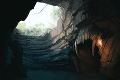 Cave, Trepka Petkova on ArtStation at https://www.artstation.com/artwork/o1kBm