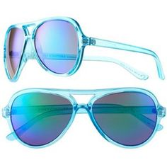 Juicy Couture Be Silly sunglasses Bold Blue Brand new with tags , never use, bold & beautiful, these women's sunglasses by JC are sunny day essentials . Product features recommended for square face shape, eye/ bridge/temple/vertical size:55/15/130/47mm for women plastic, does not include with case. Juicy Couture Accessories Sunglasses