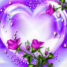 Montage photo missing you - Pixiz Beautiful Heart Images, Love Images, Beautiful Roses, Beautiful Hearts, Heart Wallpaper, Purple Wallpaper, Love Wallpaper, Purple Love, All Things Purple