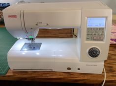 New Sewing Machine: Janome Memory Craft 7700 QCP