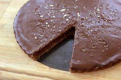 Salted Chocolate Tart – Gluten-free, Grain-free + Vegan