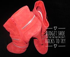 NEW POST: I've got some budget shoe hacks for you to try! Join me: http://bootsshoesandfashion.com/budget-shoe-hacks-for-you-to-try/