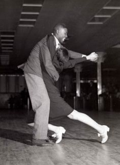 vintage everyday: Couple doing the Lindy Hop, New York, 1937