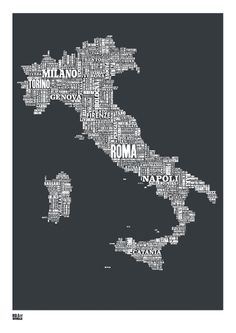 Italy wordle-use wordle to document family vacations and art