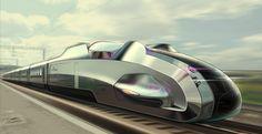 Bertone high-speed train | Ippiart Studio