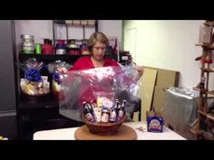 Anne from www.CentralCoastGiftBasket.com, demonstrates how to make one of her Firestone Brew Crew Gift Baskets. Anne's baskets are available for local delivery in Santa Barbara, CA, and can be shipped to most states nationwide.