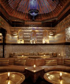 ACABAR • Los Angeles, CALIFORNIA • Mediterranean • Entering is like being transported to an Arabian nights movie set - lavishly gorgeous with a sexy cushioned lounge, mood lighting, and great food. • 323-876-1400 • acabar-la.com