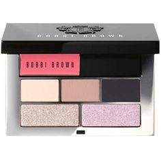 Bobbi Brown Caviar Mini Lip Eye Palette ❤ liked on Polyvore featuring beauty products, makeup, palette makeup and bobbi brown cosmetics