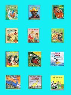 Aesthetic Nest:  Golden Books Baby Shower printables!
