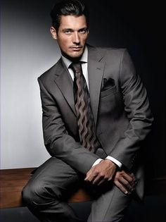 David Gandy-SO I could do a whole board on this man. He can hang a suit and looks just as good with it off. FOr Valentines Day I thought I'd offer you all a little MANCandy! Gentleman Mode, Dapper Gentleman, Gentleman Style, David Gandy, Mode Masculine, Sharp Dressed Man, Well Dressed Men, Fashion Mode, Mens Fashion