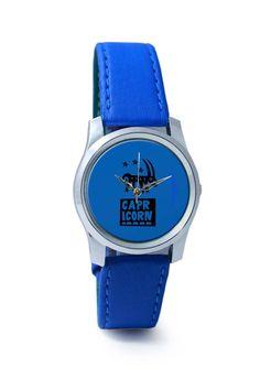 Women Wrist Watches India   Capricorn Dark Blue   Zodiac Sign Gifts  Wrist Watch Online India