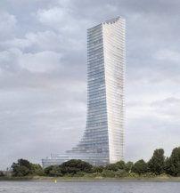 233 Meter über dem Hafen - Chipperfield Architects bauen Elbtower in Hamburg