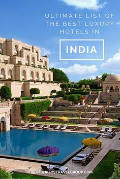 Ultimate List of the Best Luxury Hotels in India. In this article, you will find the following – Best luxury hotels in New Delhi; Best luxury hotels in Goa; Best luxury hotels in Mumbai; Best luxury hotels in Jaipur; Best luxury hotels in Agra; Best luxury hotels in Varanasi; and Best luxury hotels in Cochin.
