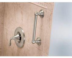 HomeCare by Moen Home Care Grab Bar Ada Bathroom, Handicap Bathroom, Bathroom Fixtures, Bathroom Ideas, Bathroom Safety, Bathroom Designs, Bathroom Trends, Washroom, Shower Ideas