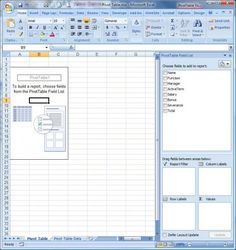 pivot table show empty cells as 0 zero with accounting format