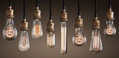 Old-school light bulbs - Restoration Hardware